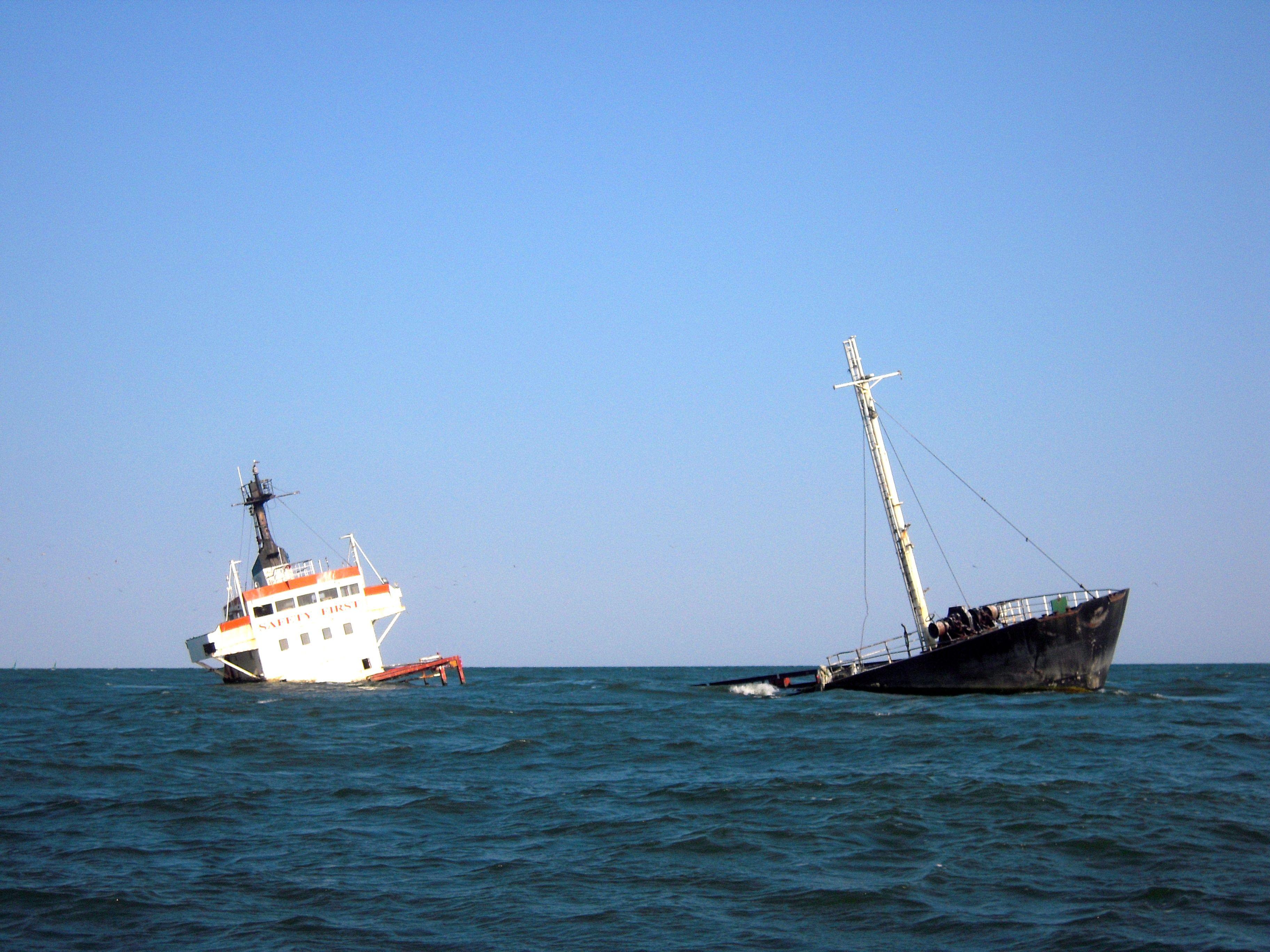 ship wrech danube delta romania