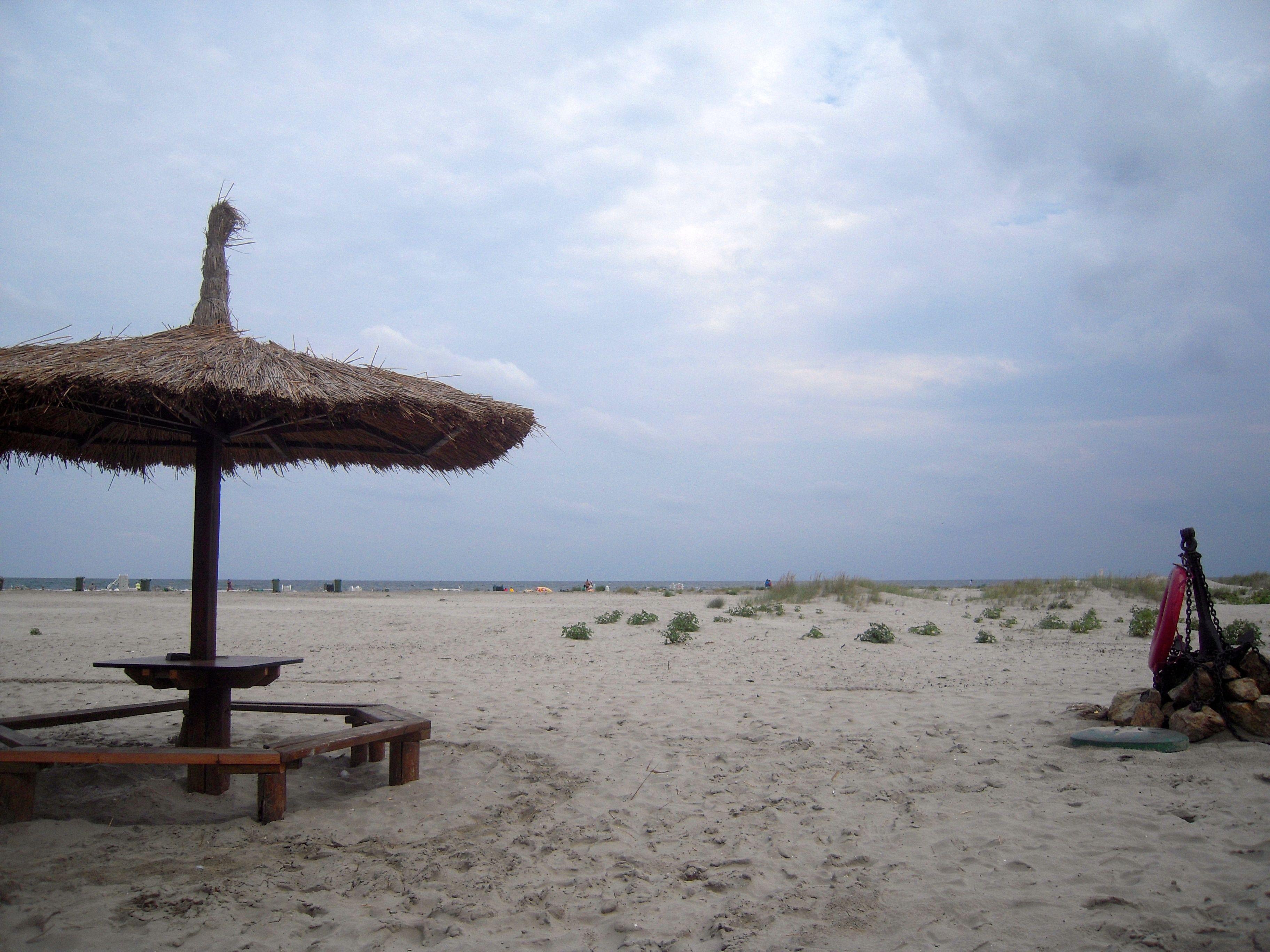 desert beach sulina danube delta romania