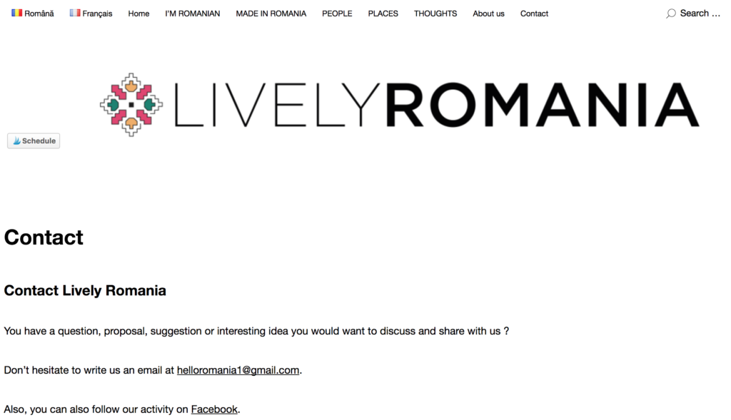 contact, lively romania, email livel