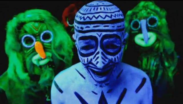 "Image from the clip ""Balada românului"""